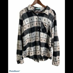 3/$30 Maurices long sleeve button up blouse